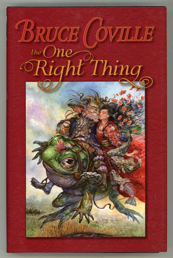 THE ONE RIGHT THING ... Edited by Deb Geisler. Bruce Coville.
