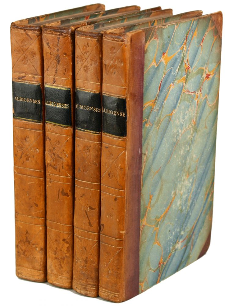 "THE ALBIGENSES, A ROMANCE. By the Author of ""Bertram,"" A Tragedy: ""Woman; or, Pour et Contre,"" &c. ... In Four Volumes. Charles Robert Maturin."