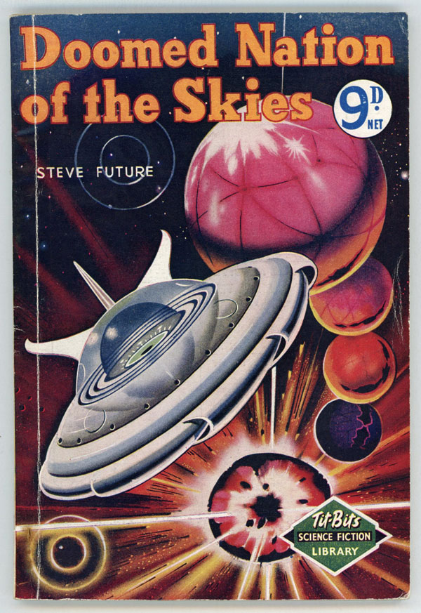 DOOMED NATION OF THE SKIES by Steve Future [pseudonym]. Steve Future, pseudonym.