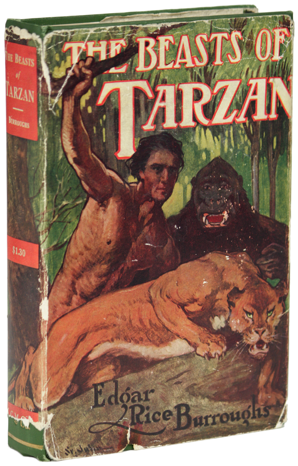 THE BEASTS OF TARZAN. Edgar Rice Burroughs.