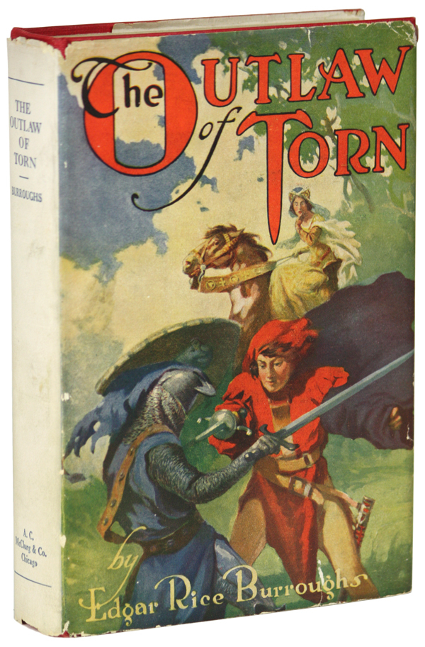 THE OUTLAW OF TORN. Edgar Rice Burroughs.