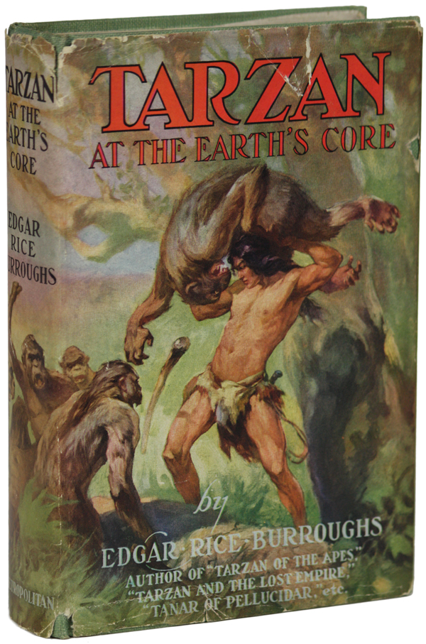 TARZAN AT THE EARTH'S CORE. Edgar Rice Burroughs.