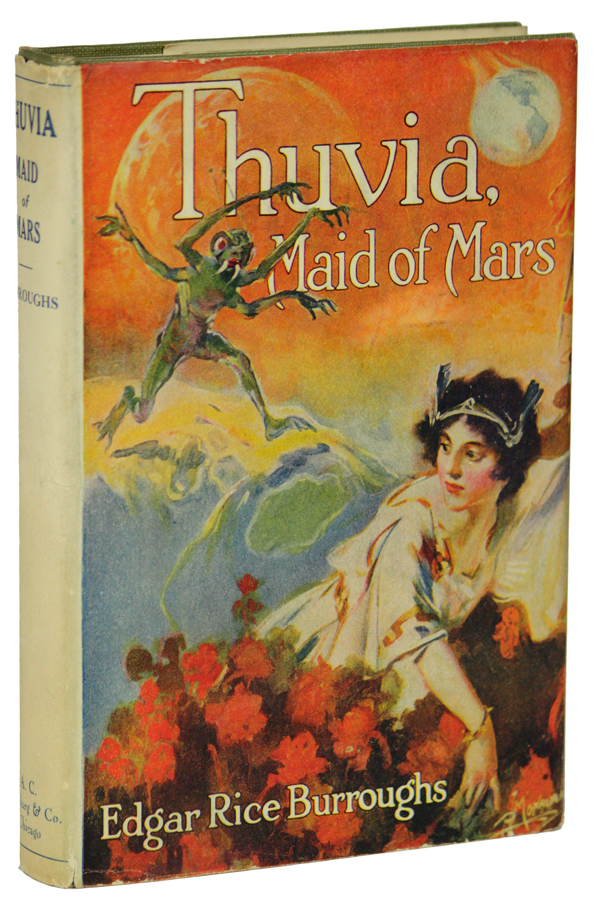 THUVIA MAID OF MARS. Edgar Rice Burroughs.