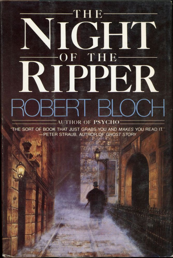 THE NIGHT OF THE RIPPER. Robert Bloch.