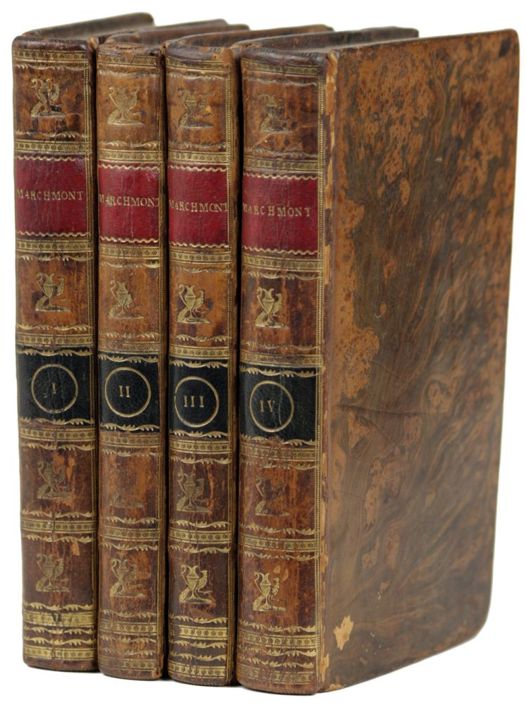 MARCHMONT: A NOVEL ... IN FOUR VOLUMES. Charlotte Smith.