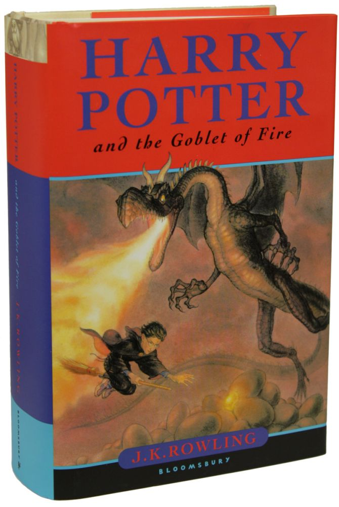 Harry Potter And The Goblet Of Fire J K Rowling Joanne Rowling