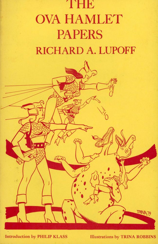 THE OVA HAMLET PAPERS. Richard A. Lupoff.