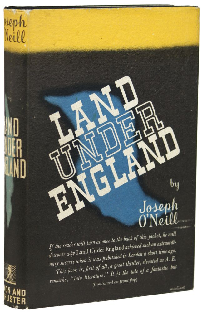 LAND UNDER ENGLAND. Joseph O'Neill.