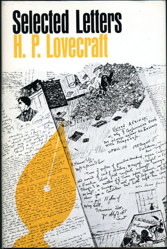 SELECTED LETTERS 1932-1934. Lovecraft.