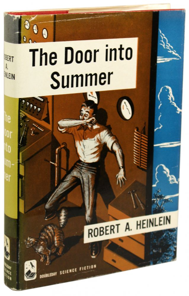THE DOOR INTO SUMMER. Robert A. Heinlein.