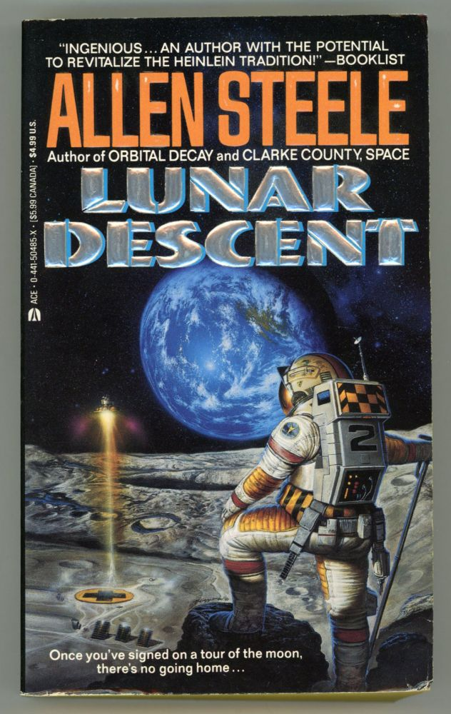 LUNAR DESCENT. Allen M. Steele.