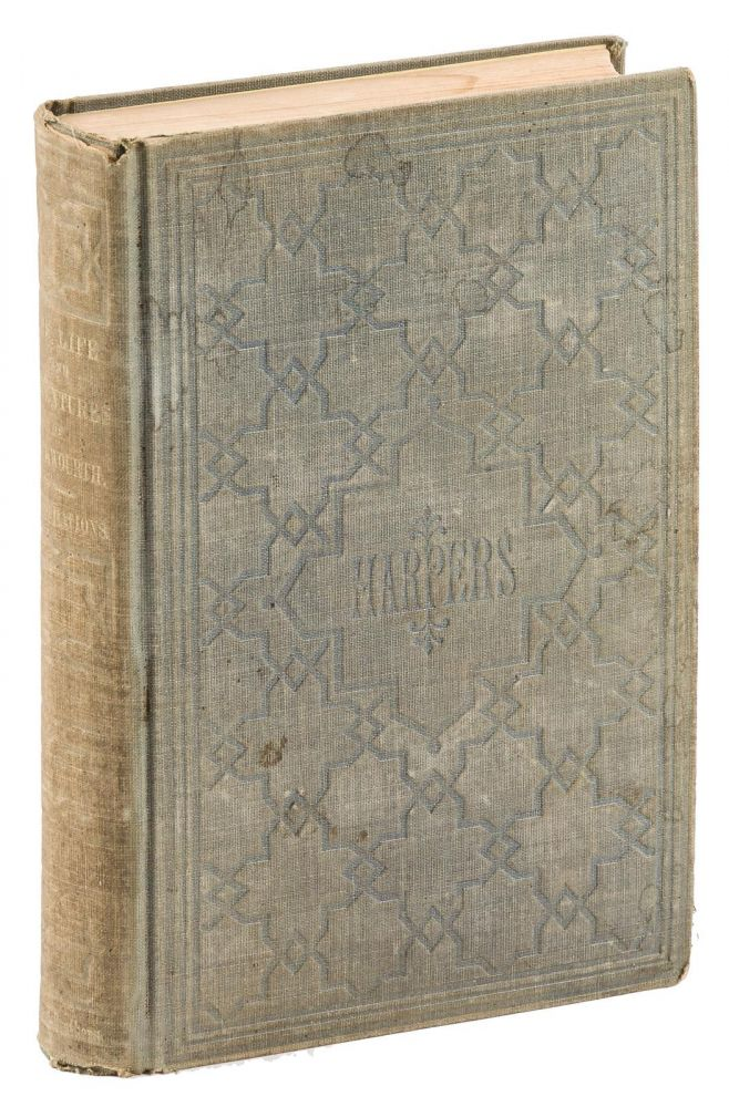 The life and adventures of James P. Beckwourth, mountaineer, scout, and pioneer, and chief of the Crow Nation of Indians. With illustrations. Written from his own dictation, by T. D. Bonner. JAMES P. BECKWOURTH.