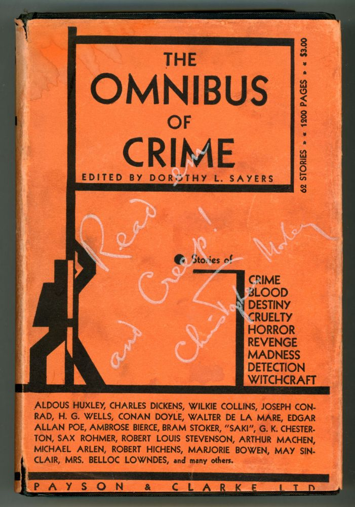 THE OMNIBUS OF CRIME. Dorothy L. Sayers.