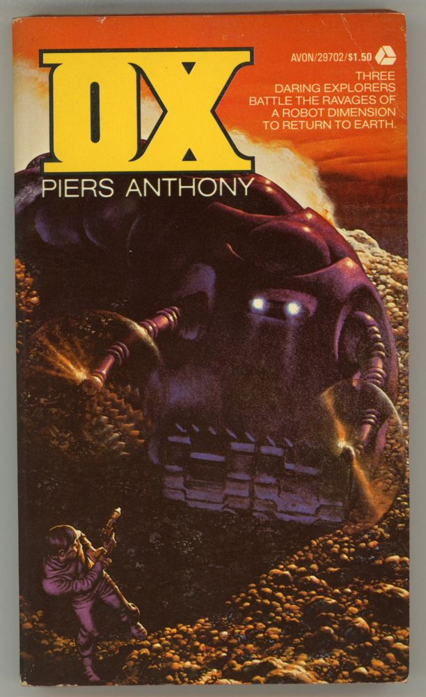 OX. Piers Anthony, Piers Anthony Dillingham Jacob.
