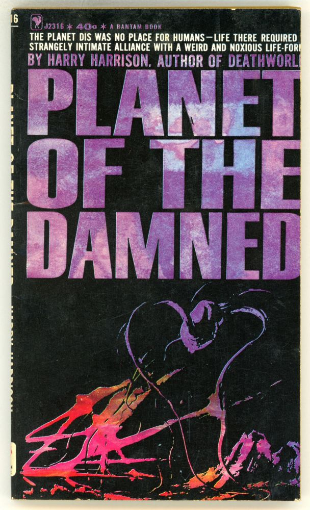 PLANET OF THE DAMNED. Harry Harrison.
