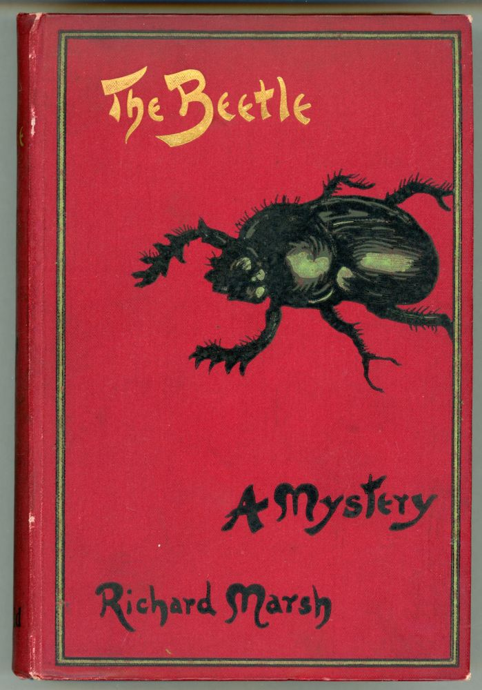 "THE BEETLE: A MYSTERY. Richard Bernard Heldmann, ""Richard Marsh."""