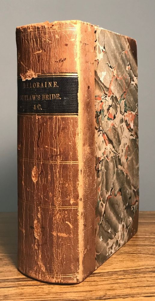 """THE OUTLAW'S BRIDE, AND OTHER TALES. By Leitch Ritchie, Mrs. S. C. Hall, Miss Mitford, Miss Sheridan, Mrs. Alaric Watts, """"The Author of Granby,"""" &c. &c. In Two Volumes. Leitch Anonymously Edited Anthology. Ritchie."""