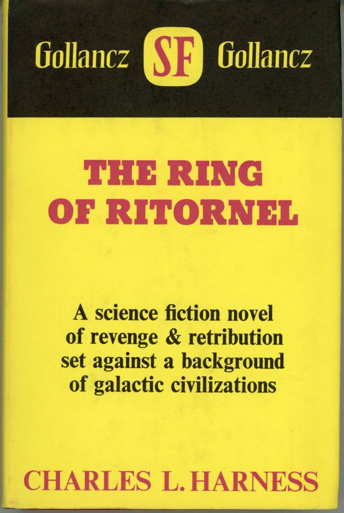 THE RING OF RITORNEL. Charles Harness.