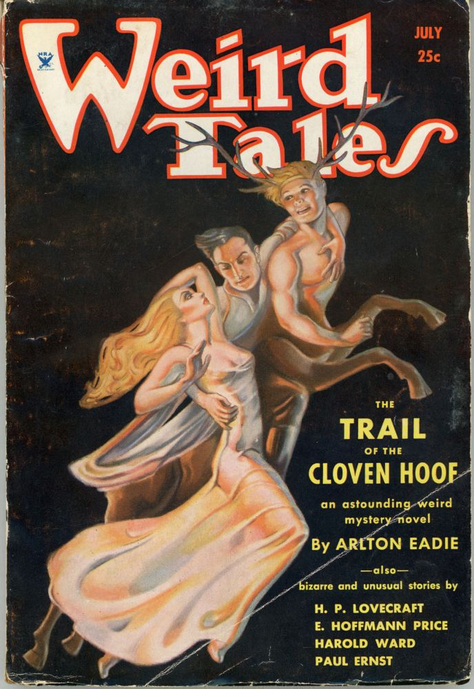 WEIRD TALES. July 1934 ., Farnsworth Wright, number 1 volume 24.