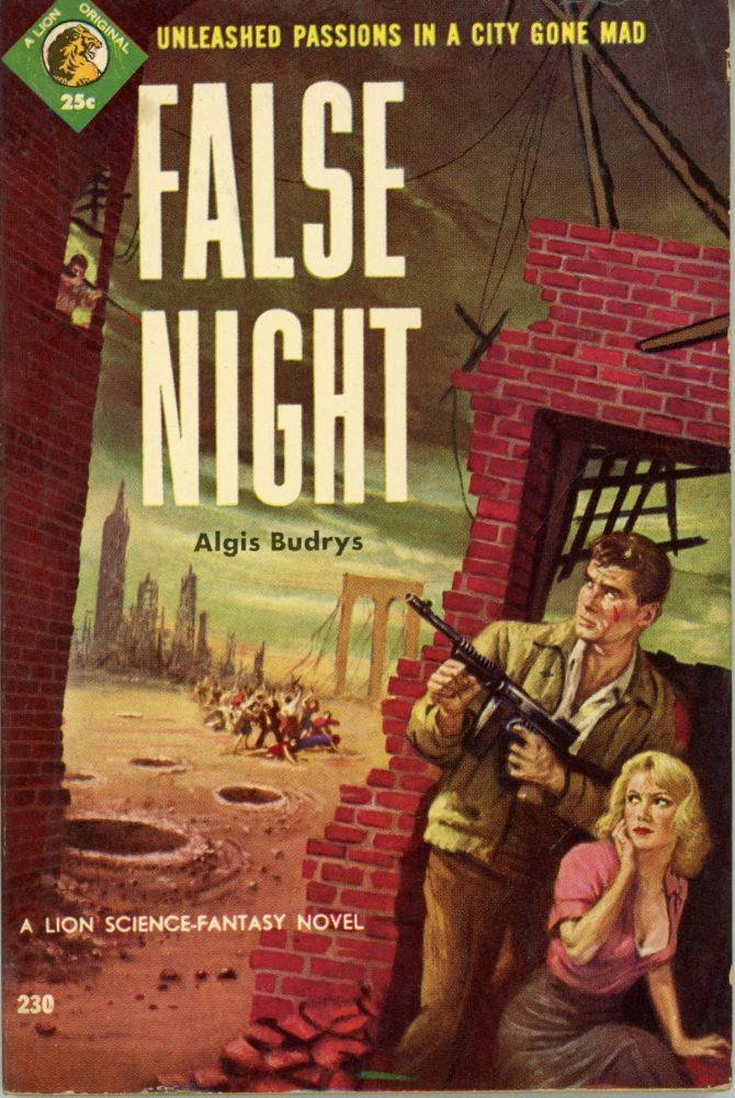 FALSE NIGHT. Algis Budrys.