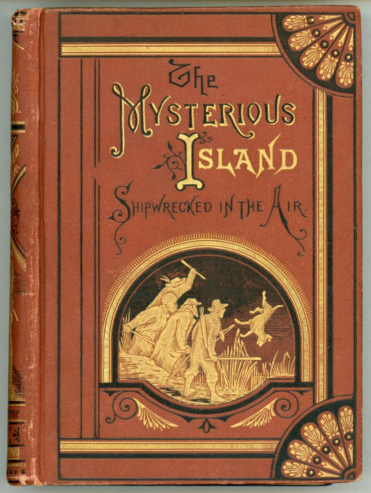THE MYSTERIOUS ISLAND. PART FIRST, SHIPWRECKED IN THE AIR. Jules Verne.