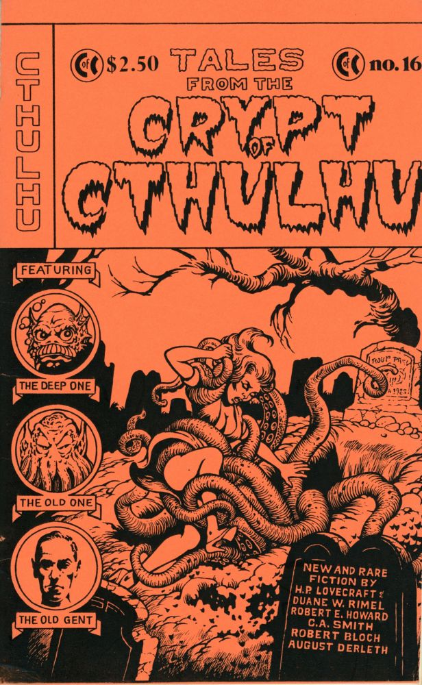 Howard Phillips Lovecraft, CRYPT OF CTHULHU. September 1983-October 1997 ., Robert M. Price, Michaelmas, Hallowmas, number 8-Volume 17 volume 2, with gaps, whole numbers, number 1.