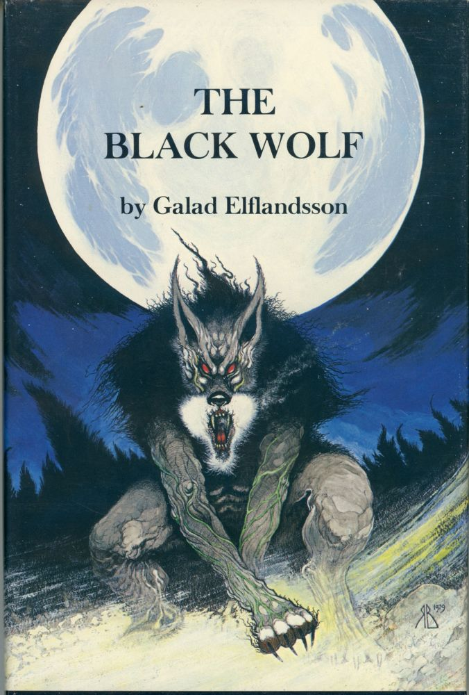 THE BLACK WOLF. Galad Elflandsson.
