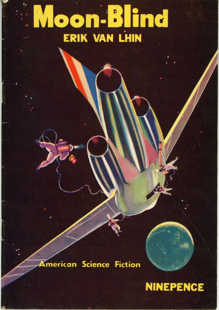 AMERICAN SCIENCE FICTION MAGAZINE. N. d., number 14, 1953.