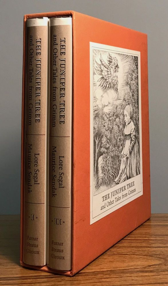 THE JUNIPER TREE AND OTHER TALES FROM GRIMM. Selected by Lore Segal and Maurice Sendak. Translated by by Lore Segal with Four Tales Translated by Randall Jarrell. Pictures by Maurice Sendak. Jakob Ludwig Carl Grimm, Wilhelm Carl Grimm.