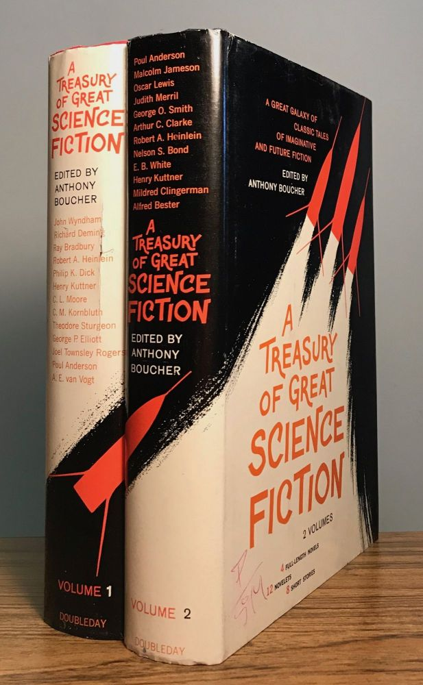 A TREASURY OF GREAT SCIENCE FICTION. Anthony Boucher, William Anthony Parker White.