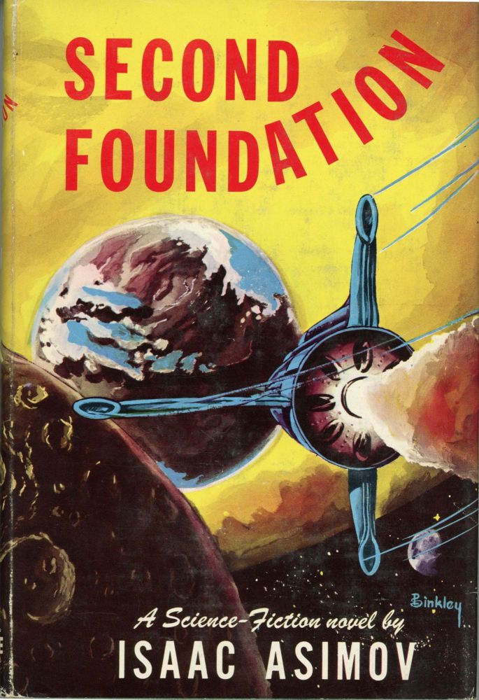 SECOND FOUNDATION. Isaac Asimov.