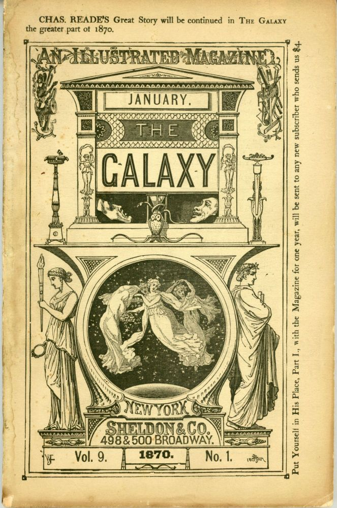 THE. January 1870 GALAXY: AN ILLUSTRATED MAGAZINE, number 2 volume 11, whole number 70.