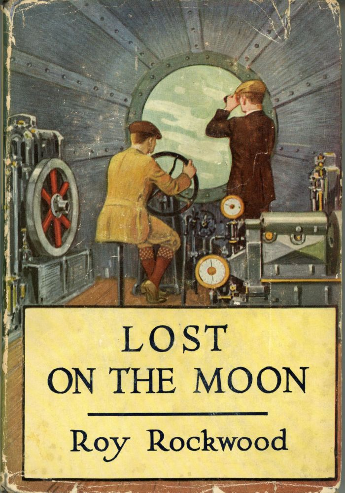 LOST ON THE MOON, OR IN QUEST OF THE FIELD OF DIAMONDS. house, the Stratemeyer Syndicate.
