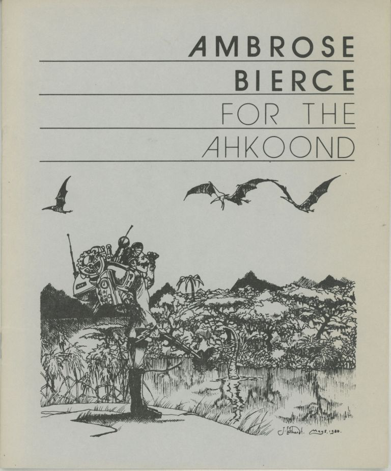 FOR THE AHKOOND. Ambrose Bierce.