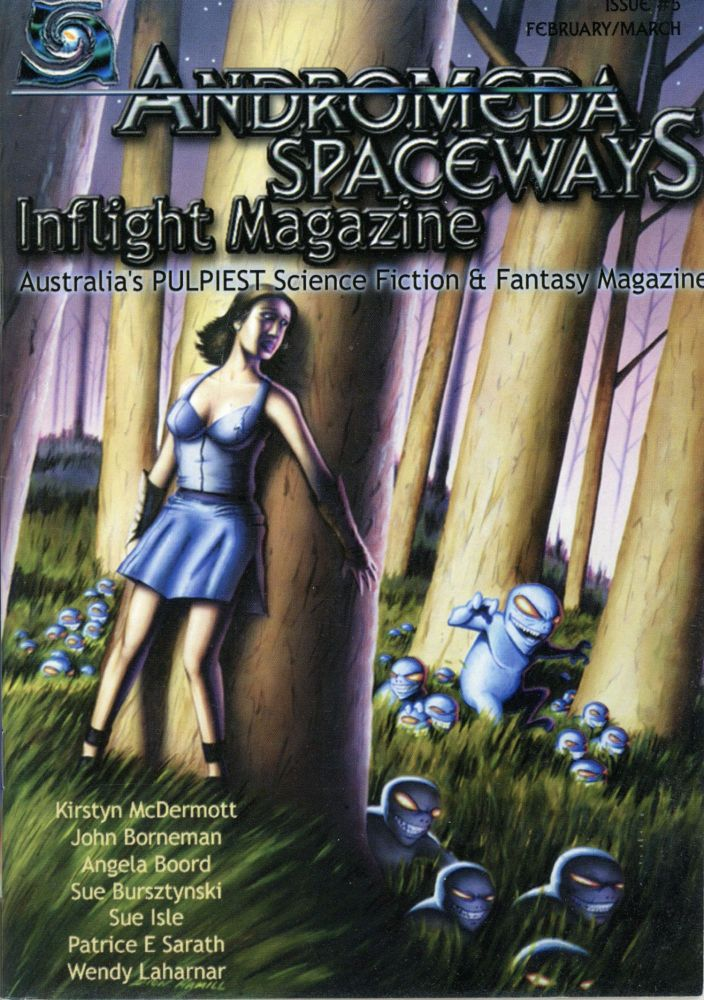 ANDROMEDA SPACEWAYS INFLIGHT MAGAZINE. February 2003-December 2004/January 2005 ., Danuta Shaw, numbers.