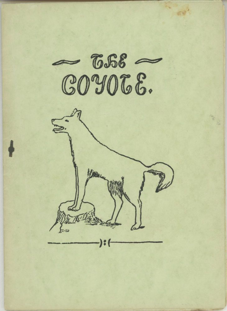 COYOTE THE. July 1917 ., William Thomas Harrington, number 3 volume 3.