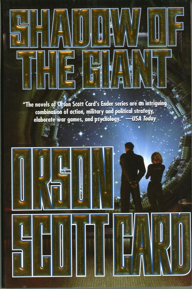 SHADOW OF THE GIANT. Orson Scott Card.