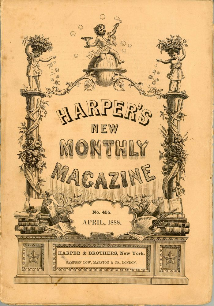 """""""Chita: A Memory of Last Island."""" In: HARPER'S NEW MONTHLY MAGAZINE. April 1888 (volume 76, number 455). Lafcadio Hearn."""