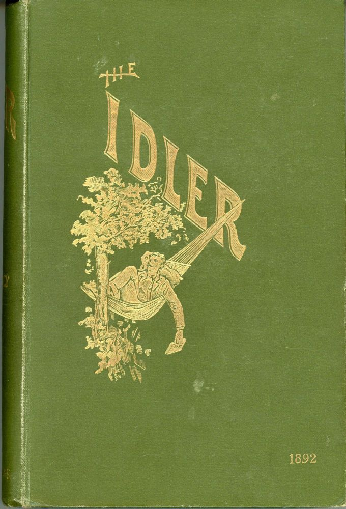 THE: AN ILLUSTRATED MONTHLY. February 1892 -- January 1895 . IDLER MAGAZINE, Jerome K. Jerome, Robert Barr, volumes I-VI.