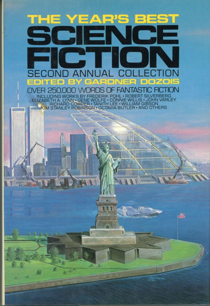 THE YEAR'S BEST SCIENCE FICTION: SECOND ANNUAL COLLECTION. Gardner Dozois.