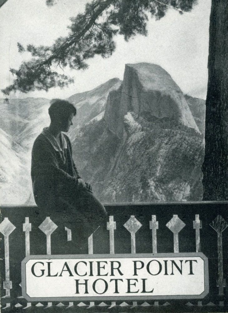 Glacier Point Hotel [cover title]. YOSEMITE PARK AND CURRY COMPANY.