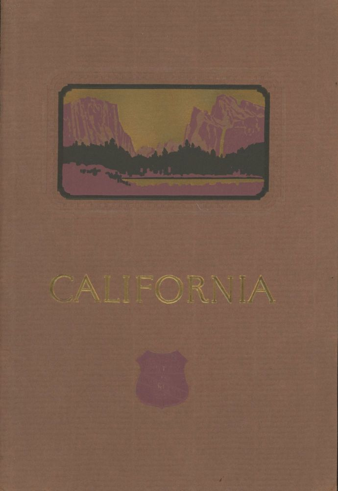 California. Issued by the Union Pacific System. UNION PACIFIC SYSTEM.