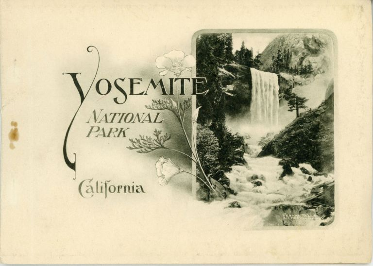 The Yosemite National Park, California. Photo-gravures. CALIFORNIA YOSEMITE NATIONAL PARK, THE. PHOTO-GRAVURES, THE PACIFIC NOVELTY CO. [publisher.