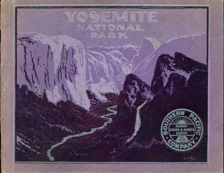 Yosemite National Park, California. SOUTHERN PACIFIC COMPANY.