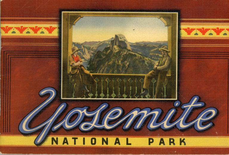 Yosemite National Park ... [caption title]. WESTERN PUBLISHING AND NOVELTY COMPANY.