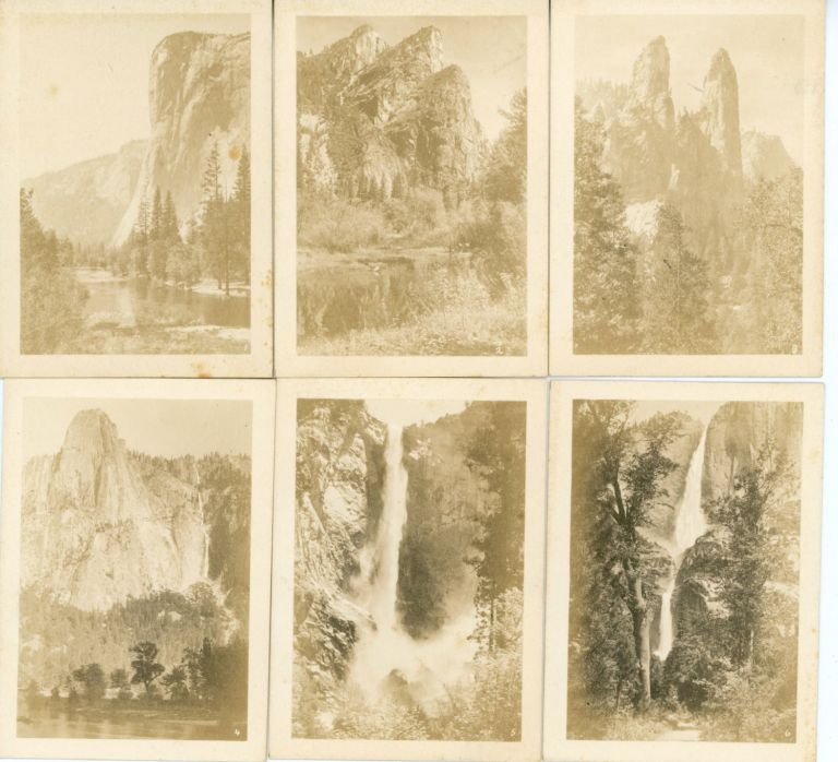 12 real photographs of Yosemite Valley [title supplied]. 12 REAL PHOTOGRAPHS OF YOSEMITE VALLEY.