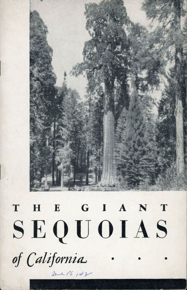 The giant sequoias of California by Lawrence F. Cook. LAWRENCE F. COOK.