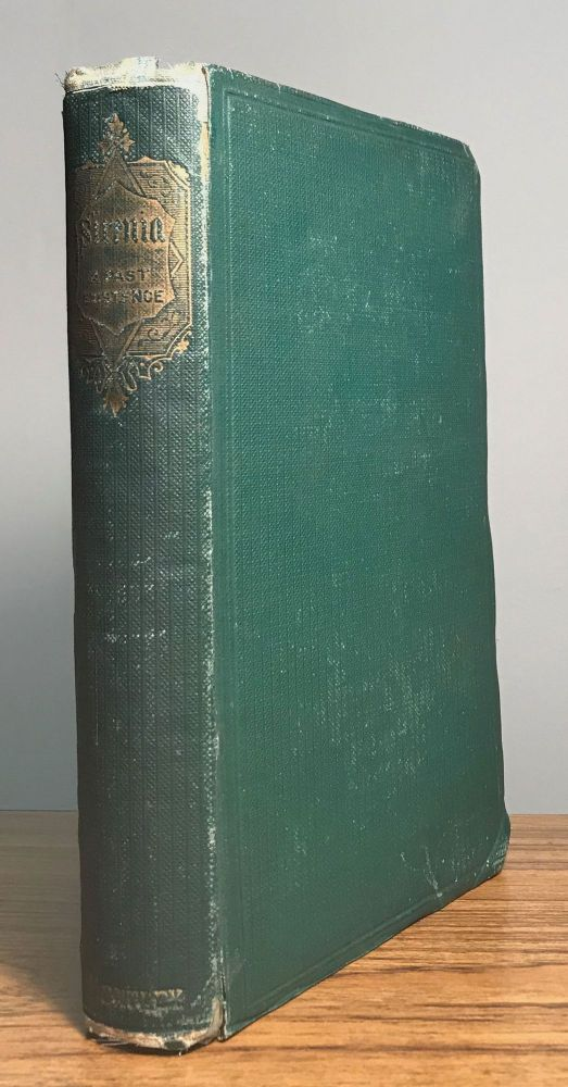 SIRENIA; OR, RECOLLECTIONS OF A PAST EXISTENCE. Second Edition. Benjamin Lumley.