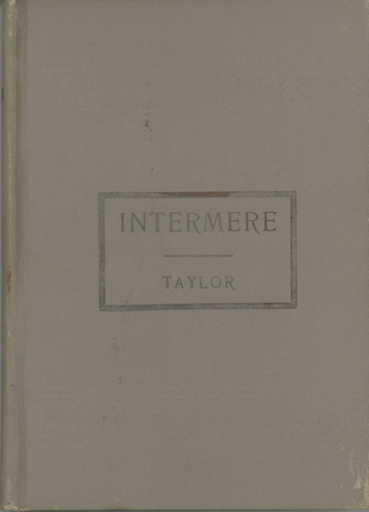 INTERMERE. William Alexander Taylor.