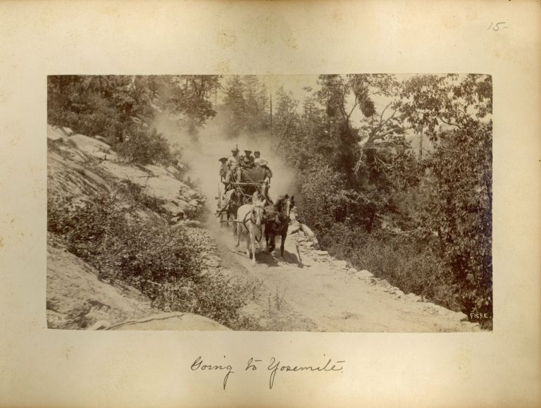 [Yosemite Valley] Photographs of Yosemite Valley and Big Trees of Mariposa county, Calif. By Geo. Fiske [album title]. GEORGE FISKE.